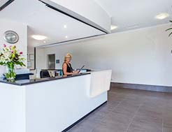 Alexandra Headland Apartments Reception