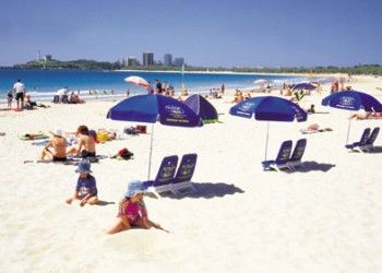 Mooloolaba Beach on the Sunshine Coast