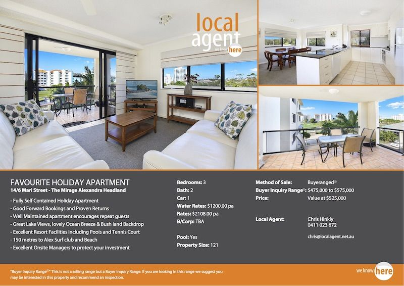 Apartment for sale Alexandra Headland Sunshine Coast