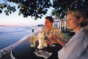 Maroochydore Boatshed riverfront restaurant