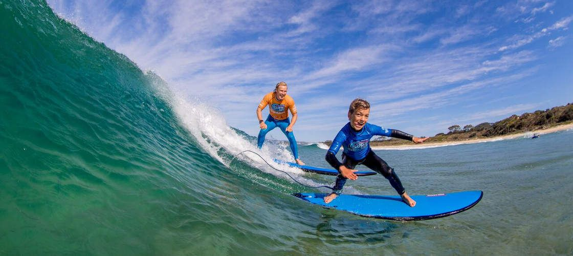 Learn to Surf on Coolum Beach