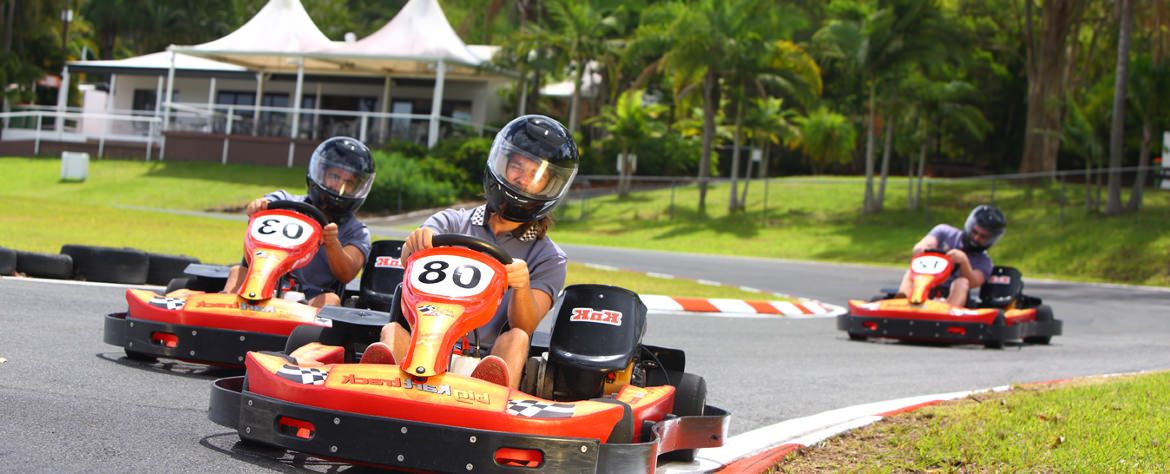 Big Kart Track Go Karting